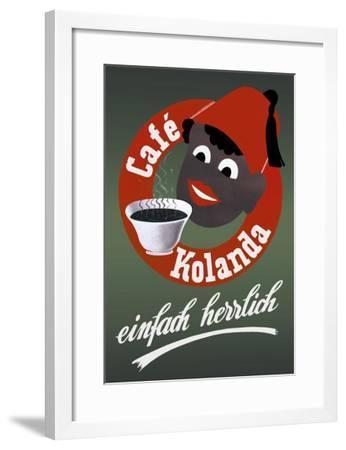 Cafe Kolanda--Framed Art Print
