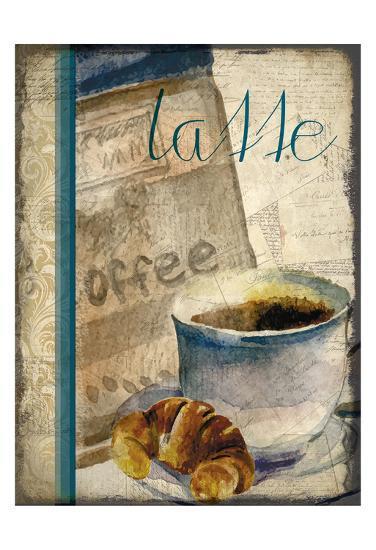 Cafe Latte 2-Kimberly Allen-Art Print