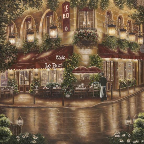 Café le Buci-Betsy Brown-Art Print