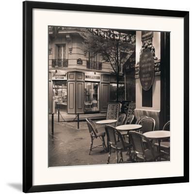 Café, Montmartre-Alan Blaustein-Framed Art Print