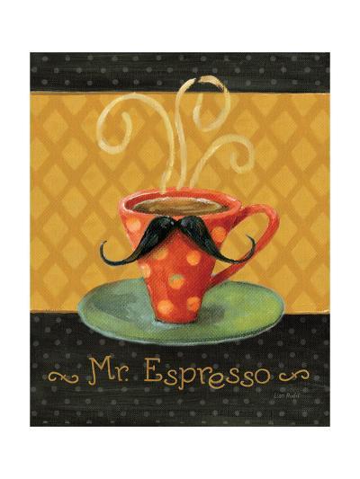 Cafe Moustache III-Lisa Audit-Premium Giclee Print