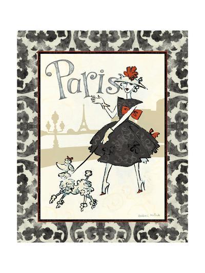 Cafe Paris-Naomi McBride-Art Print