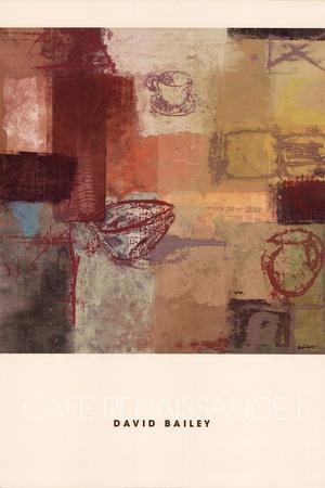 Cafe Renaissance I-Arbess Bailey-Art Print
