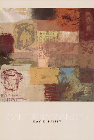 Cafe Renaissance II-Arbess Bailey-Art Print