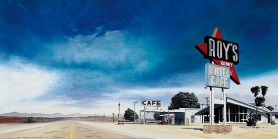 Café Roy's-Alain Bertrand-Art Print