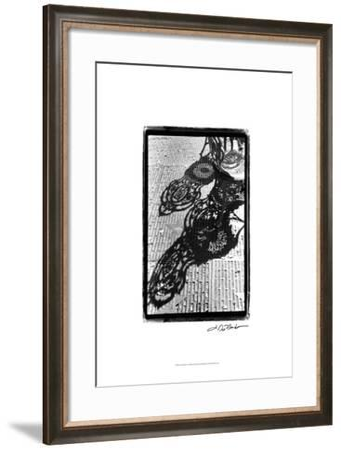 Cafe Shadows I-Laura Denardo-Framed Art Print