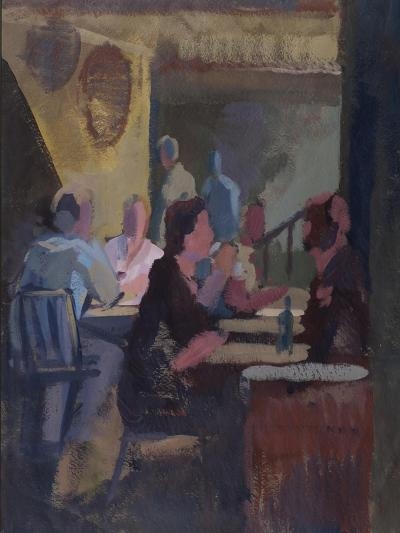 Cafe Society - Gordon's Wine Bar--Giclee Print