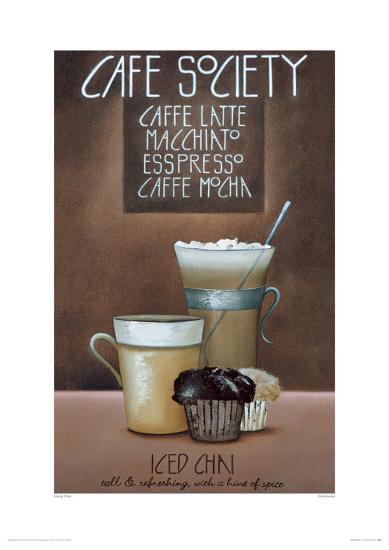 Café Society-Mandy Pritty-Giclee Print