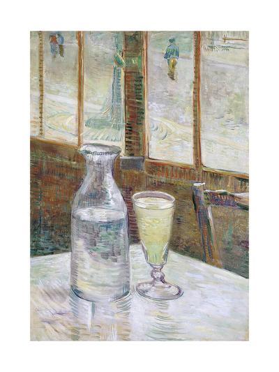 Café Table with Absinth, 1887-Vincent van Gogh-Giclee Print