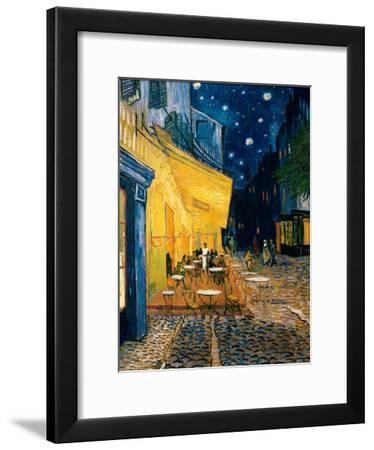 Vincent van Gogh Cafe Terrace at Night Impressionist City Print Poster 13x19