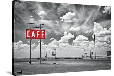 Cafe US 66--Stretched Canvas Print
