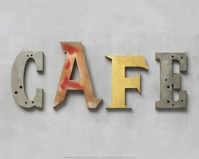 Café-Louis Gaillard-Art Print