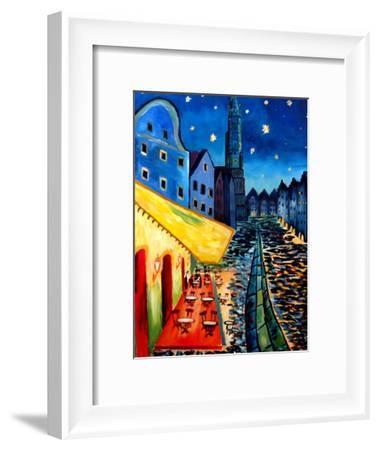 Cafe-M Bleichner-Framed Art Print