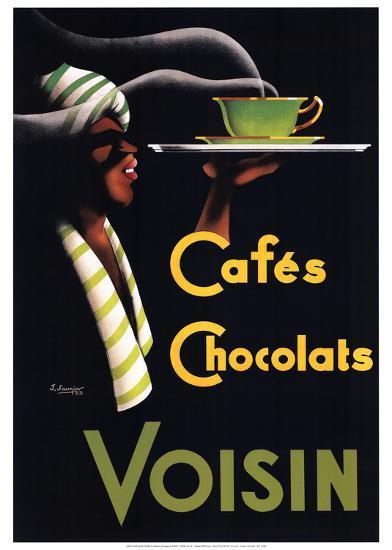 Cafes Chocolats-Noel Saunier-Art Print