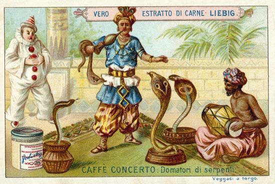 Caffe-Concerto: Snake Charmer--Giclee Print