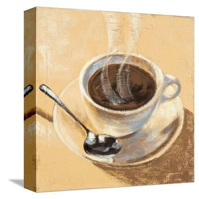 Caffé Della Notte-Karsten Kirchner-Stretched Canvas Print