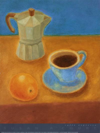 Caffe Espresso-Susan A' Court-Art Print