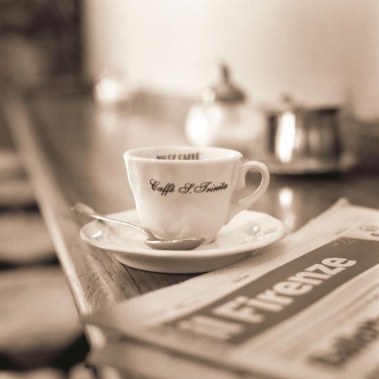 Caffè, Firenze-Alan Blaustein-Photographic Print