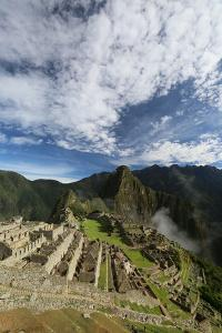 Macchu Picchu Ruins with Huayna Picchu Mountain in the Background by Cagan Sekercioglu