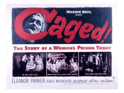 Caged, Eleanor Parker, Agnes Moorehead, Hope Emerson, 1950--Photo