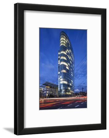 The Landmark Eliptical Commercial Office Building Gap at Graf Adolf Platz in Dusseldorf
