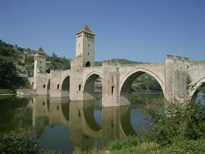 Cahors, in the Dordogne Lot Valley, Midi Pyrenees, France-Harding Robert-Photographic Print