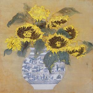 Sun Flowers by Cai Xiaoli
