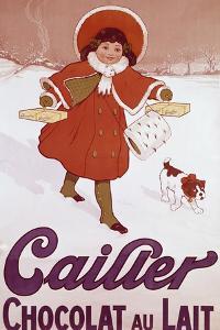 Cailler Orange Coat Little Girl