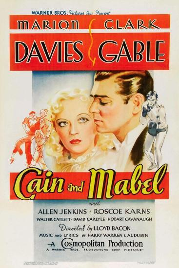 Cain and Mabel, 1936--Giclee Print