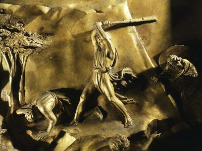 Cain Killing Abel, Detail from Stories of the Old Testament--Giclee Print