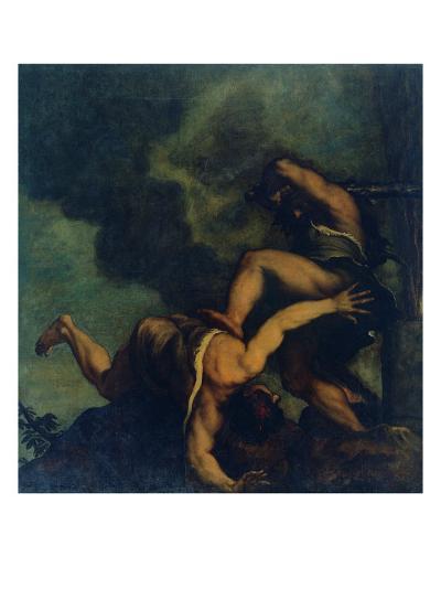 Cain Kills (His Brother) Abel-Gino Boccasile-Giclee Print
