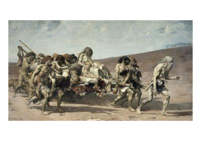 Caïn-Fernand Cormon-Giclee Print