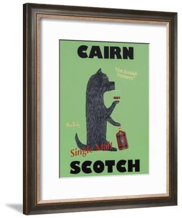 Cairn Scotch-Ken Bailey-Framed Collectable Print