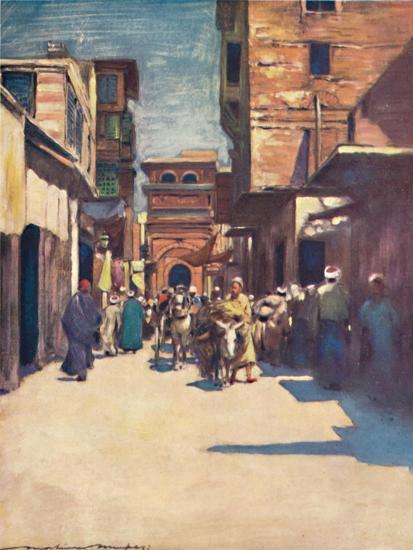 'Cairo', 1903-Mortimer L Menpes-Giclee Print