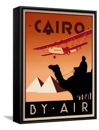 Cairo by Air-Brian James-Framed Canvas Print
