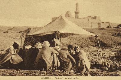 Cairo - Native Fortune Teller--Photographic Print
