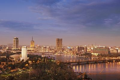 Cairo Skyline-Visions Of Our Land-Photographic Print