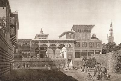 Cairo: View of the Interior of the House of Osman Bey, 1820-1830--Giclee Print