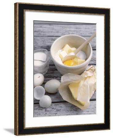 Cake Ingredients- Bayside-Framed Photographic Print