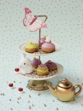 Cakes and Rabbit-Louis Gaillard-Art Print