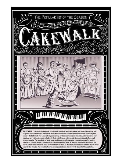 Cakewalk-Wilbur Pierce-Art Print