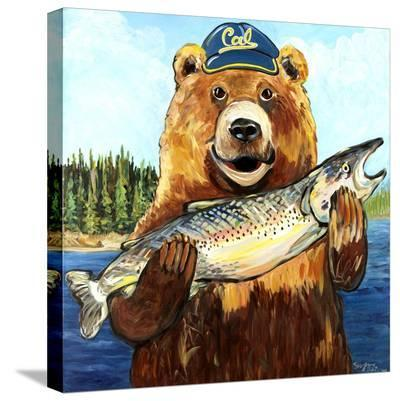 Cal Bear-Suzanne Etienne-Stretched Canvas Print