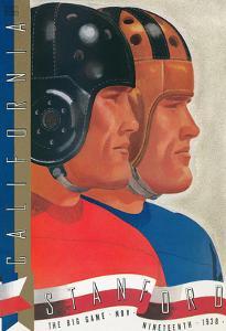 Cal-Stanford Football Program, 1938