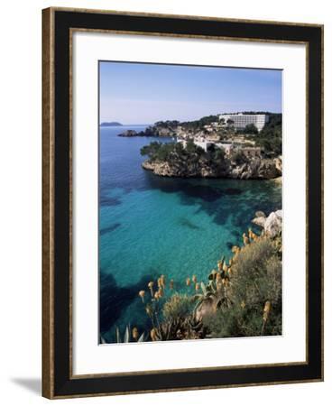 Cala Fornels, Palma, Majorca, Balearic Islands, Spain, Mediterranean-Tom Teegan-Framed Photographic Print