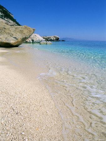 Cala Mariolu, Cala Gonone, Golfe Di Orosei (Orosei Gulf), Island of Sardinia, Italy-Bruno Morandi-Photographic Print