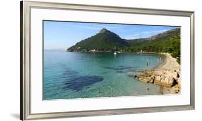 Cala Pi de la Posada, Cap Formentor, Majorca, Balearic Islands, Spain, Mediterranean, Europe-Hans-Peter Merten-Framed Photographic Print