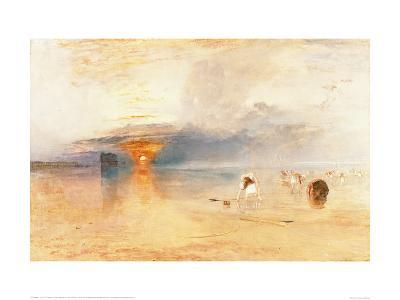 Calais Sands at Low Water, 1830-J^ M^ W^ Turner-Giclee Print