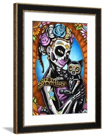 Calala-Nicholas Ivins-Framed Art Print