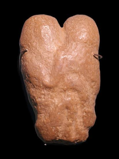 Calcite statuette showing two humans in an embrace, 30th century BC-Unknown-Giclee Print