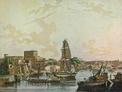 Calcutta, 1788-Thomas Daniell-Giclee Print
